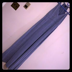 Gap blue maxi dress